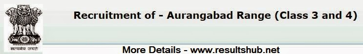 Aurangabad IG Police Clerk, Typist Recruitment 2014 Result,