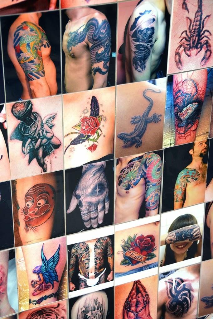 Chinatown Kuala Lumpur tattoo