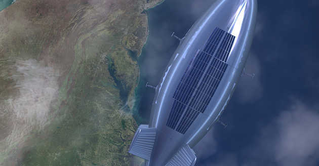 Kapal udara akan ganti penggunaan satelit