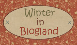 QUILT HOUSE. Winter in blogland.