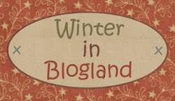 QUILT HOUSE. Winter in blogland.