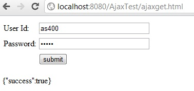 JavaScript AJAX GET and POST HTTP request