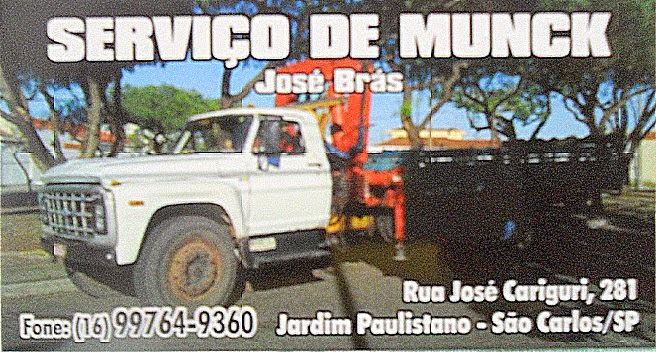 Serviço de Munck - São Carlos/SP