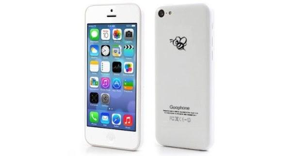 Empresa china un clon del modelo 5C iPhone de Apple