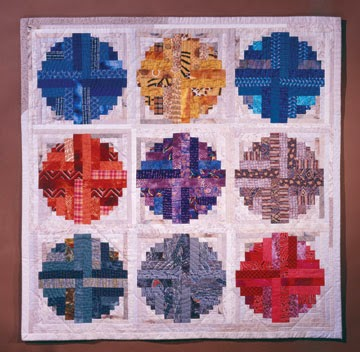 Two Tricks for Perfect Log Cabin Blocks Â« modafabrics : curved log cabin quilt block - Adamdwight.com