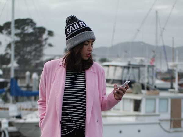 How to Actually Wear a Pink Pastel Winter Coat