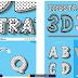 أكشن تحويل الأشكال والنصوص لـ 3D  [illustrative 3d styles action]