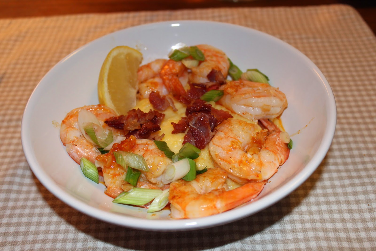shrimp and grits and other bits