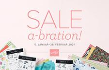 Stampin' Up! Sale-A-Bration 2021, Gratis Produkte verdienen!