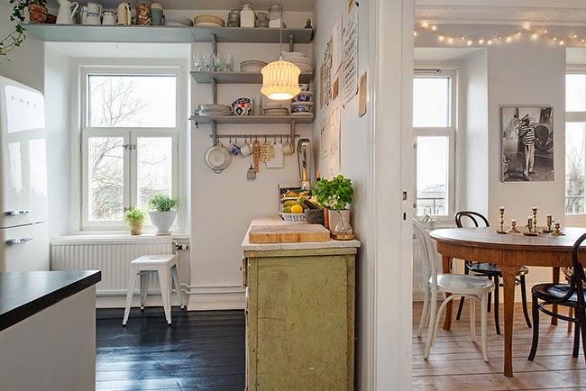 Casa di ispirazione nordica home shabby home for Hem arredamento