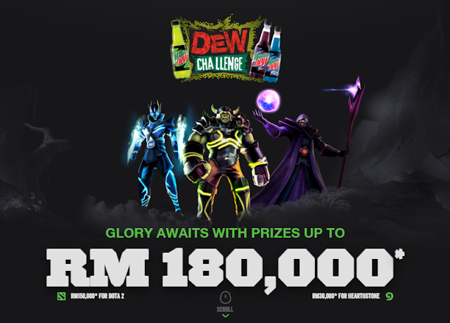 mountain dew challenge dota
