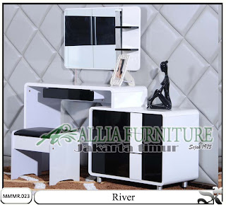 Meja rias minimalis model modern River