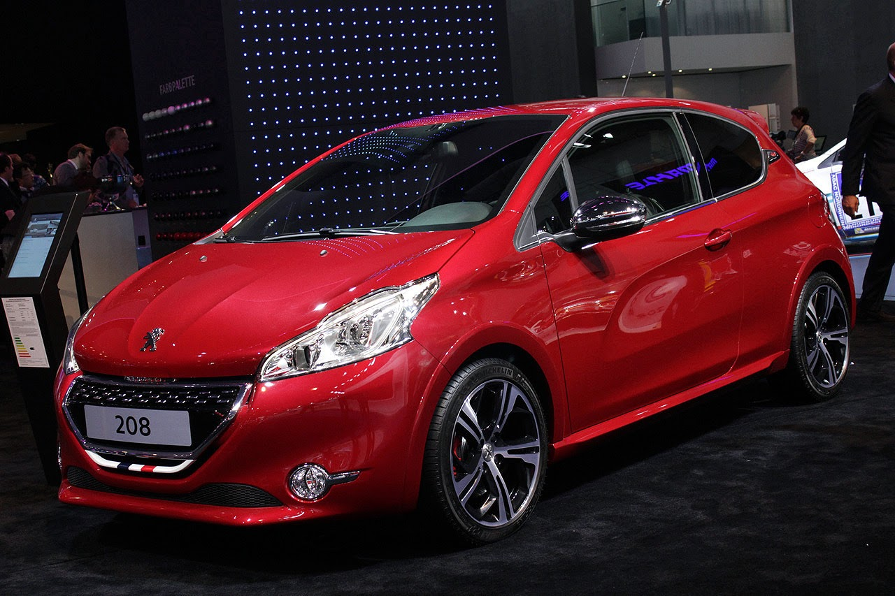 automotiveblogz 2013 peugeot 208 gti r sport frankfurt 2013 photos. Black Bedroom Furniture Sets. Home Design Ideas