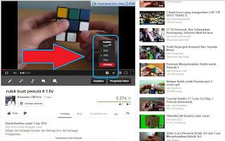 Mengubah kualitas video