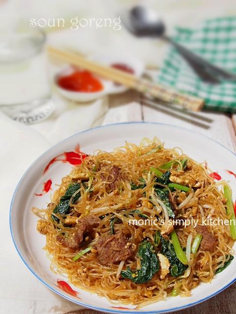 resep soun goreng daging sapi