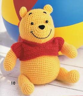 Amigurumi Winnie Pooh Patron Gratis : Patrones de crochet gratis: Winnie pooh y piglet amigurumi ...