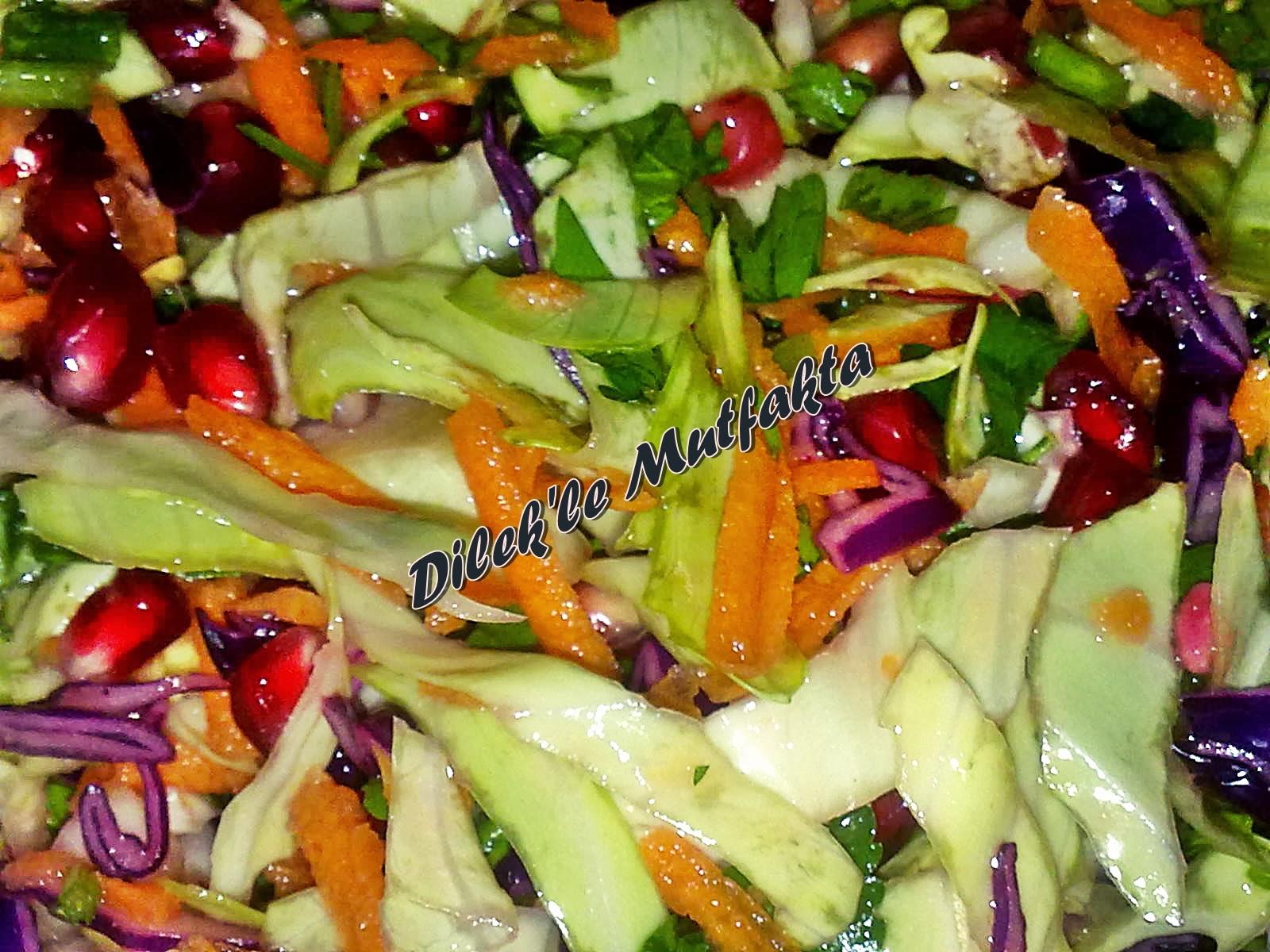 Kaparili Arpa Şehriye Salatası Tarifi – Salata Tarifleri