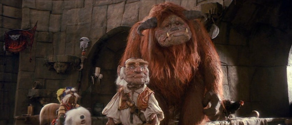 ... to think of the right movie to show to girls, was Jim Henson's LABYRINTH ...