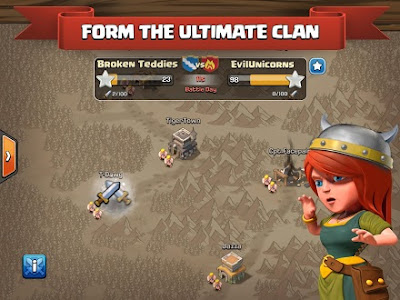 Clash of Clans Mod Apk v7.65.5 Unlimited Gems Gold Hack Download