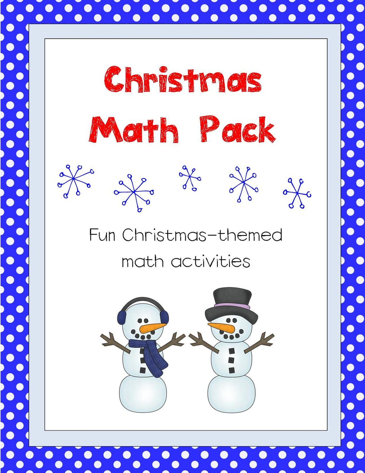 Worksheet and a countdown till christmas activity it can be purchased