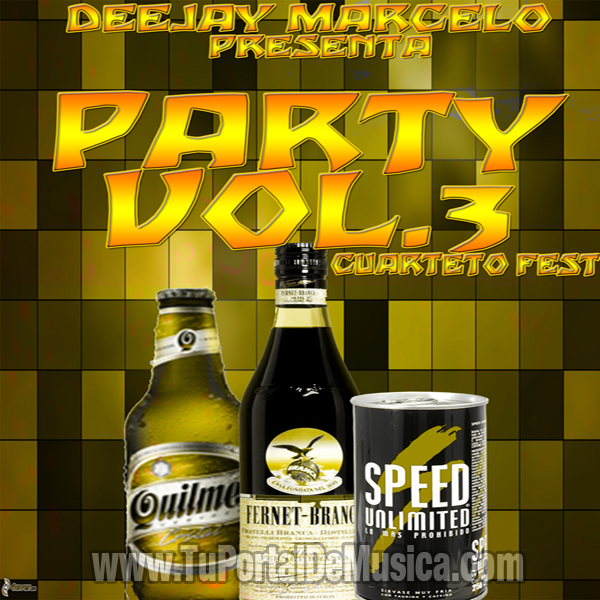 DeeJay Marcelo Party Vol. 3 Cuarteto Fest (2015)