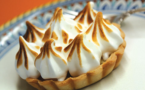 Apple Meringue Tart recipe from Judy Zeidler