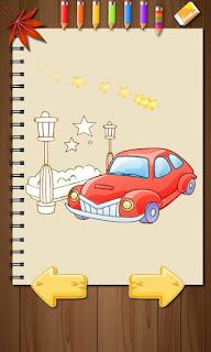 Libro para colorear para niños, colores con estilo