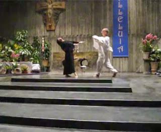 horrible liturgical dance