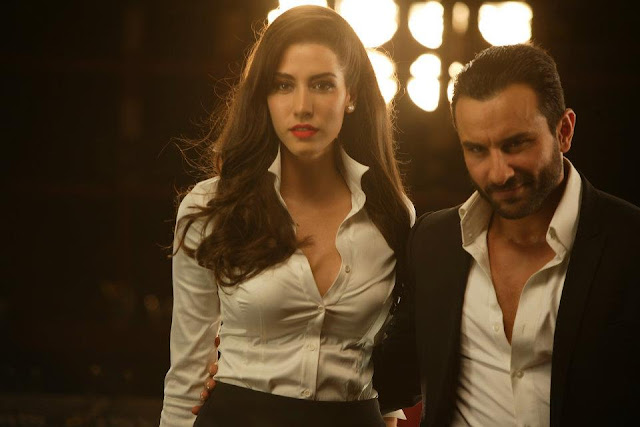 Sexy Malika Haydon and Saif Ali Khan Hot Quality Pics from Pyaar Ki Pungi Song  | Agent Vinod