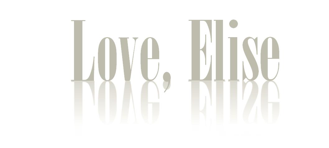 Love, Elise