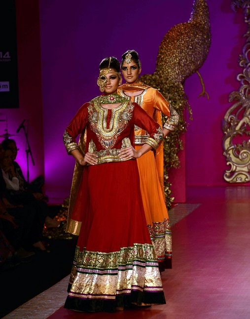 ritu beri at india bridal fashion week 2013 vega fashion mom