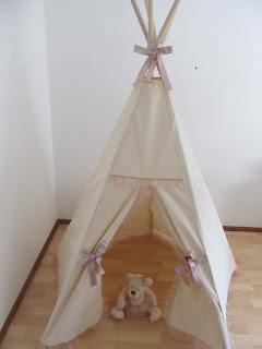 Indijanski šator za devojčice