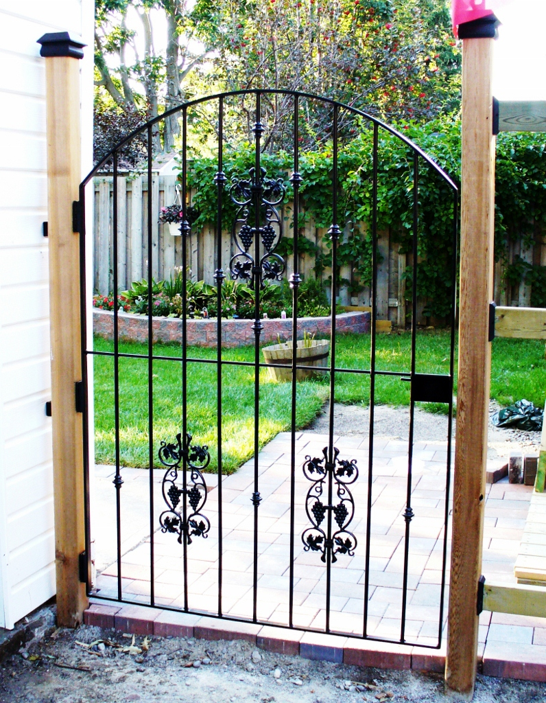 wrought iron from julian wrought iron gates. Black Bedroom Furniture Sets. Home Design Ideas