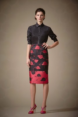 Designer Carolina Herrera modest styles from Pre Fall 2014 collection | Mode-sty