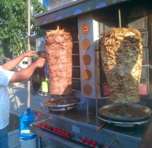 how to cook donair meat