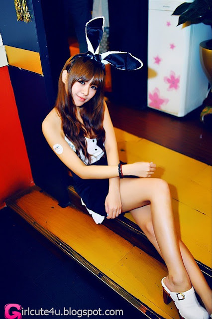 2 Wang Tingyu - Bunny-very cute asian girl-girlcute4u.blogspot.com