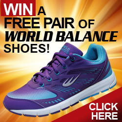 WIN A FREE PAIR OF WORLD BALANCE SHOES!