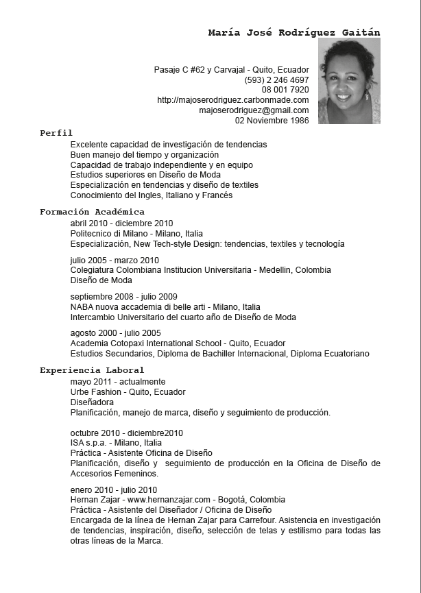 resume en espanol resumes en espanol free resume templates