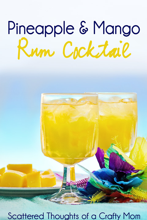 Tropical Drink of the Day: Pineapple and Mango Rum Cocktails ...