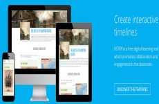 Hstry: web que permite crear líneas de tiempo interactivas online
