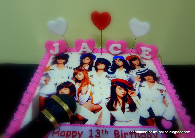 Cake Inspiration Girls Generation Cake Singapore Snsd Jace Lim