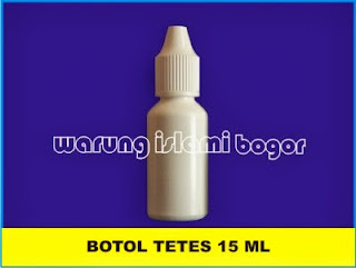 Botol Tetes Mata Eye Drop Tanpa Segel 15ml