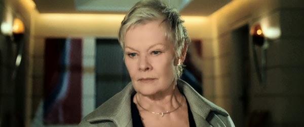 Judi Dench as M in Casino Royale
