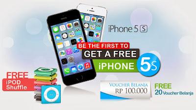 Kontes, iPhone 5s, Dinomarket