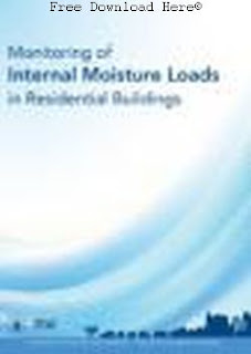 Download Monitoring of Internal Moisture Loads in Residential Buildings Book