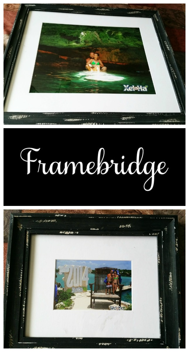 you choose the frame type that you want they even have a cheat sheet if you are looking for a specific thing to be framed ie diploma picture etc