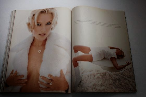 Sharon Stone Is Seen Posing Undressed In The Artfully Arranged Shoot