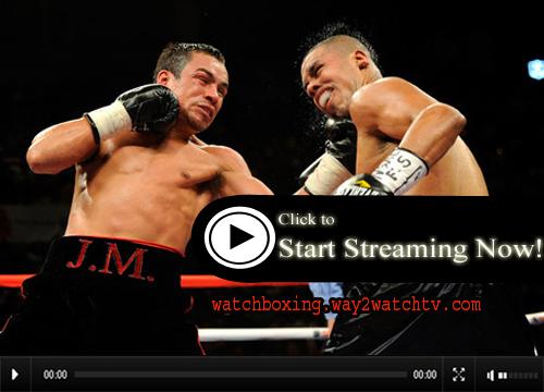 Watch Juan Manuel Marquez vs Al Sabaupan Live Stream Boxing Online
