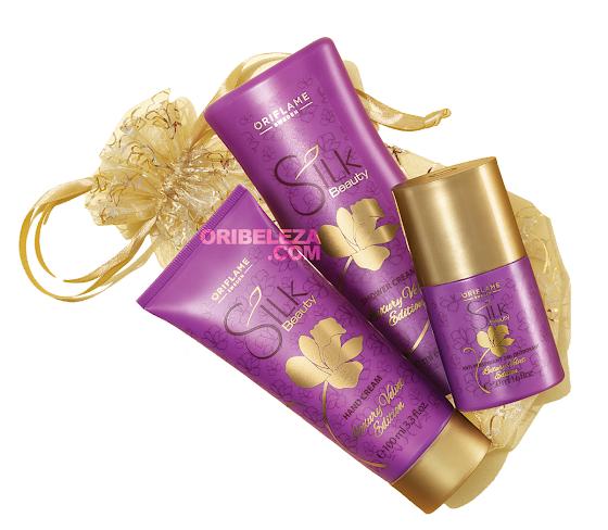 Conjunto Edição Luxury Velvet Silk Beauty da Oriflame