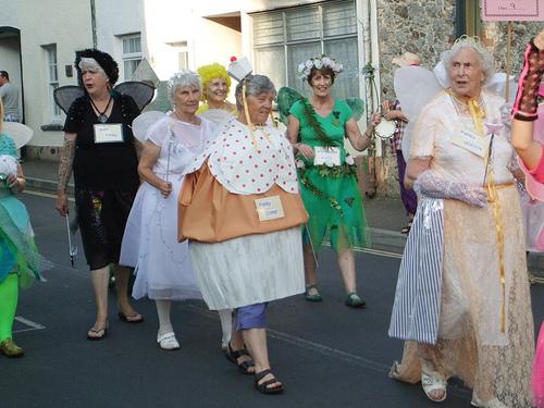 Chudleigh Carnival grannies